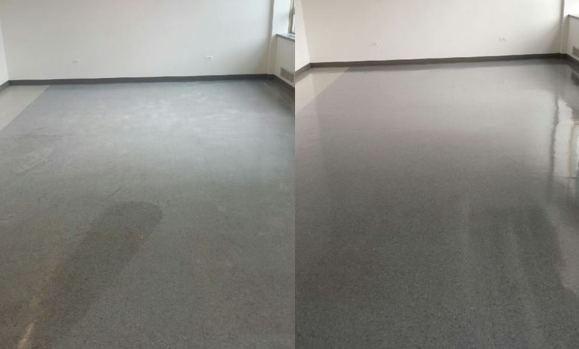ServiceMaster Restoration By Simons Performs Floor Care in the North Shore