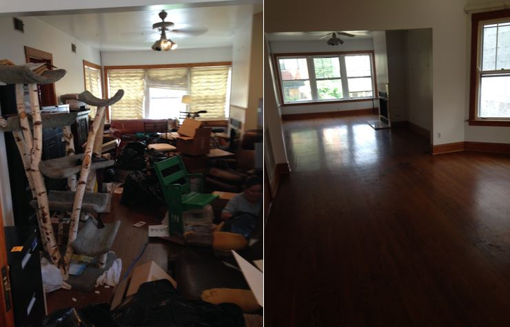 ServiceMaster Restoration By Simons performs hoarder job clean-up in Wrigleyville