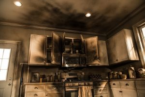 Fire Damage Restoration - Smoke Damage Restoration - Fire Mitigation - Smoke Mitigation - ServiceMaster Restoration By Simons - Chicago IL
