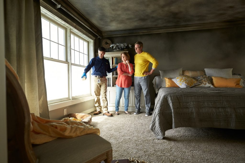 Lakeview Fire & Smoke Damage Restoration - ServiceMaster Restoration By Simons - Chicago - IL
