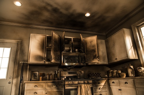 Residential Fire Damage Restoration - Smoke & Odor removal - content cleaning - restoration laundry and dry cleaning - Chicago il - servicemaster restoration simons