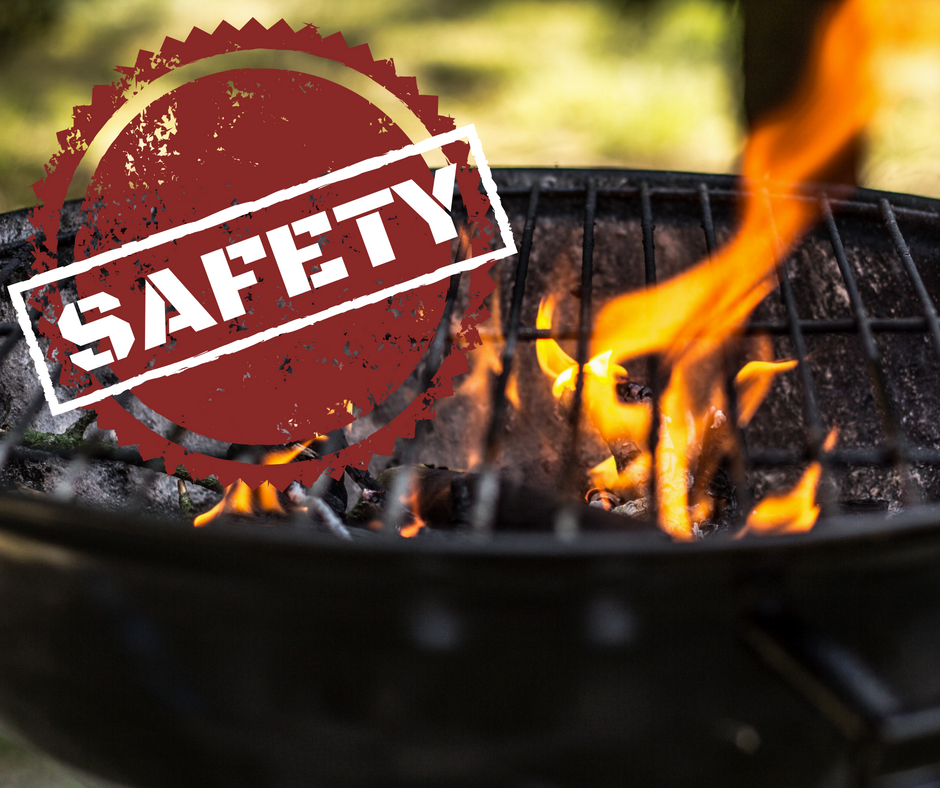 GRILL & BARBECUE SAFETY - FIRE & SMOKE DAMAGE RESTORATION - SERVICEMASTER RESTORATION BY SIMONS