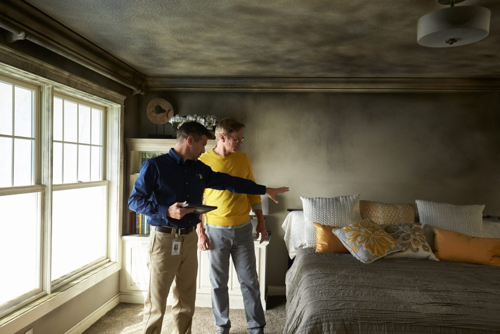 Fire & Smoke Damage Restoration & Cleaning