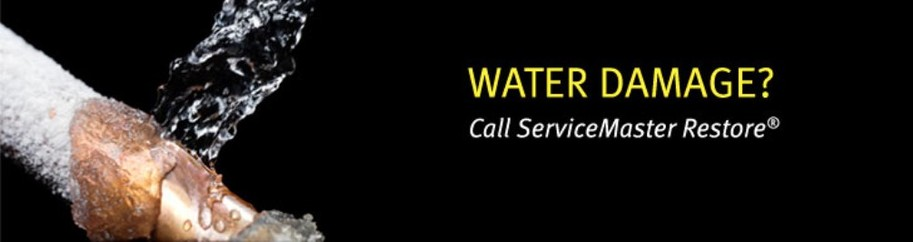 Water Pipe Break Cleanup and Restoration Chicago - ServiceMaster Restoration By Simons
