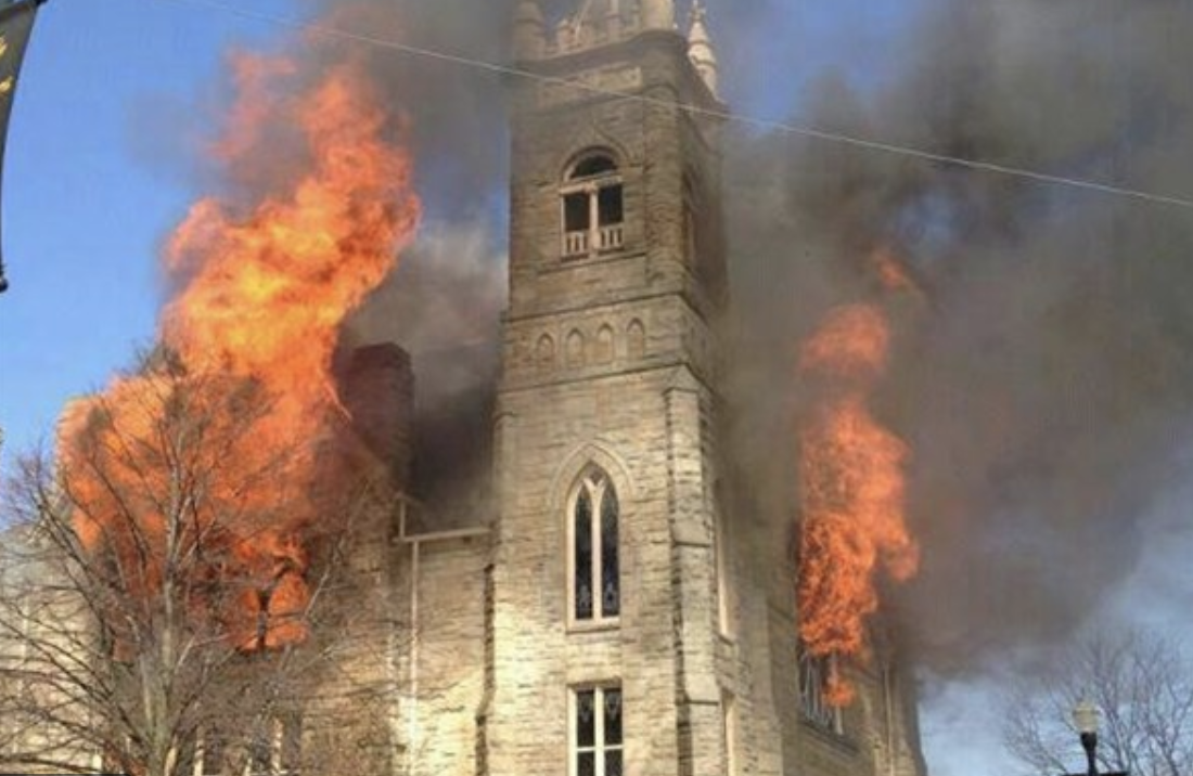 Fire Damage 101: What do I do if my place of worship experiences a fire?