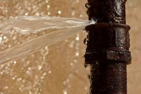 Burst Water Pipe Cleanup