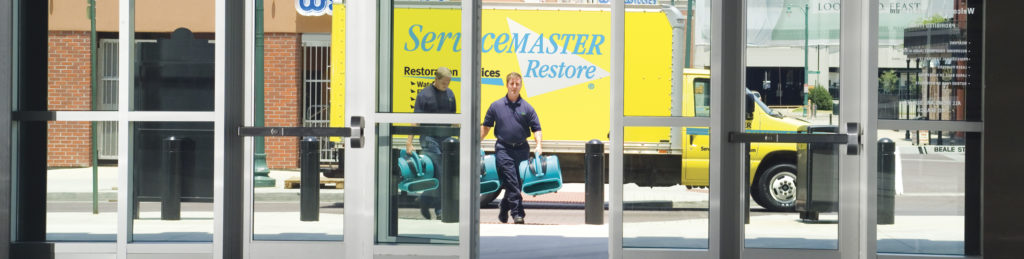 Commercial Water Damage Restoration - Property Managers - ServiceMaster Restoration By Simons