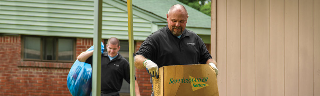 hoarder cleaning and clutter cleaning - Chicago - Oak Park - North Shore - servicemaster restoration by simons