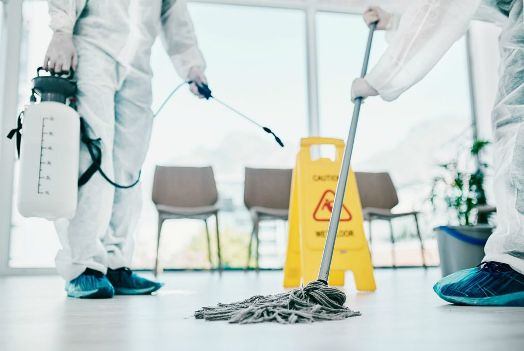 Guide to Professional Cleaning and Disinfection for Reopening Businesses
