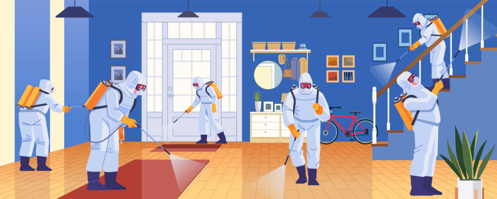 Covid 19 Cleaning Services Chicago